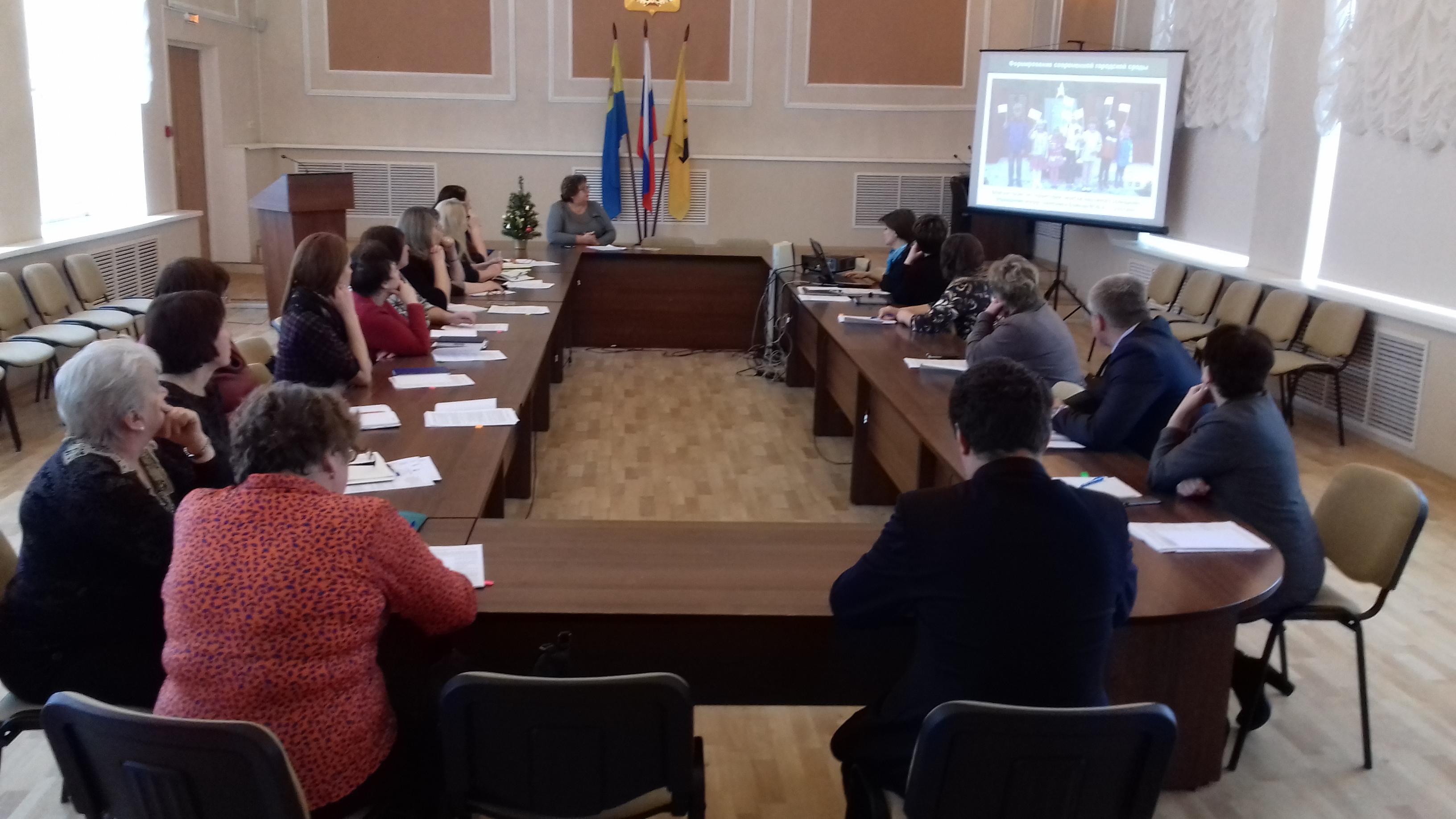 Проведена встреча с руководителями предприятий и учреждений по проекту создания комфортной городской среды «Решаем вместе!»